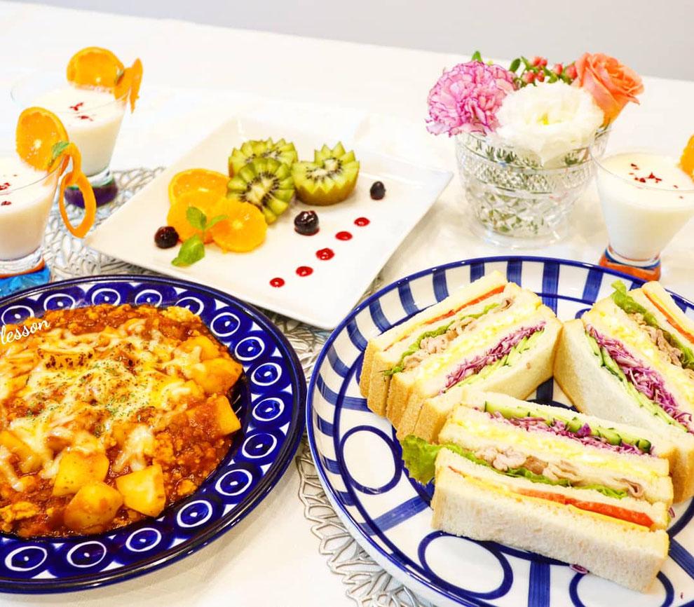 子供料理教室 親子料理教室 東京都 新宿区にある エムズレッスン