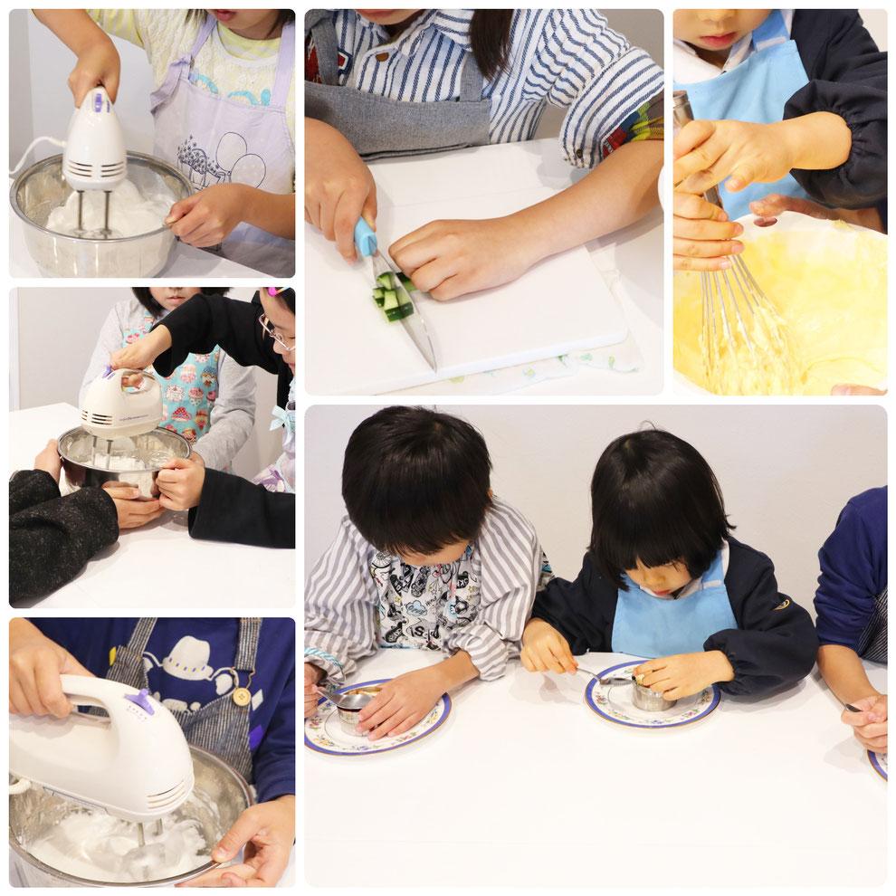 子供料理教室 新宿区  エムズ レッスン