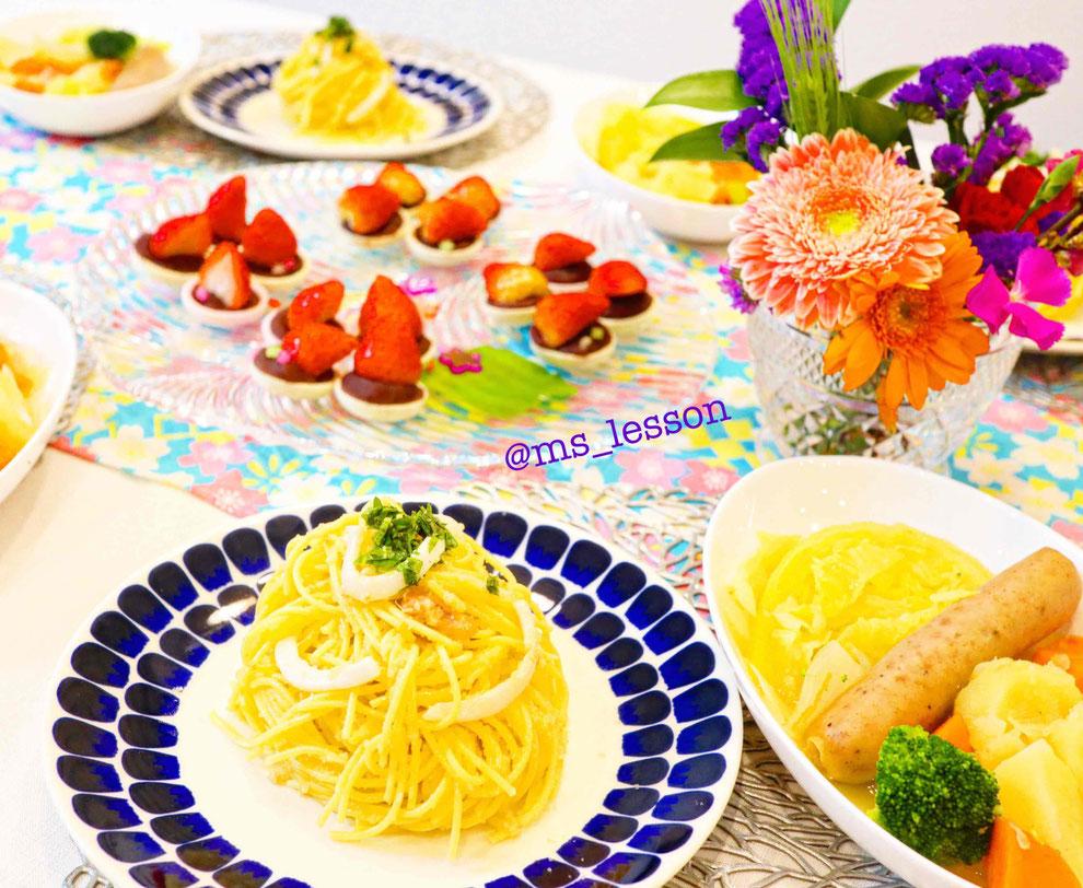山岡真千子  やまおかまちこ 子供料理教室 親子料理教室 東京都 新宿区 料理教室 エムズレッスン