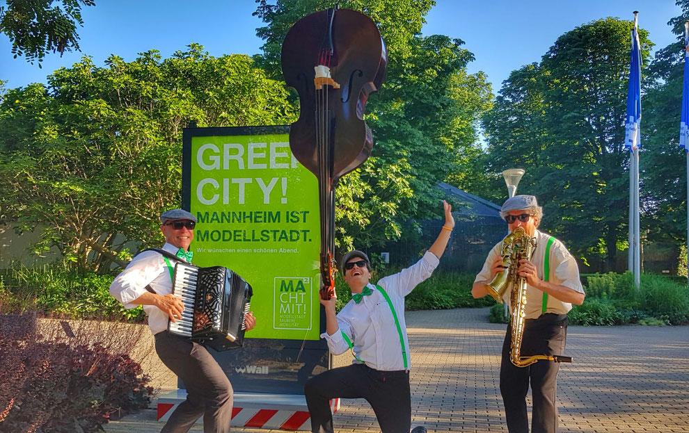 Macht Mit! Ein Projekt der Modellstadt Mannheim mit der Green City Band