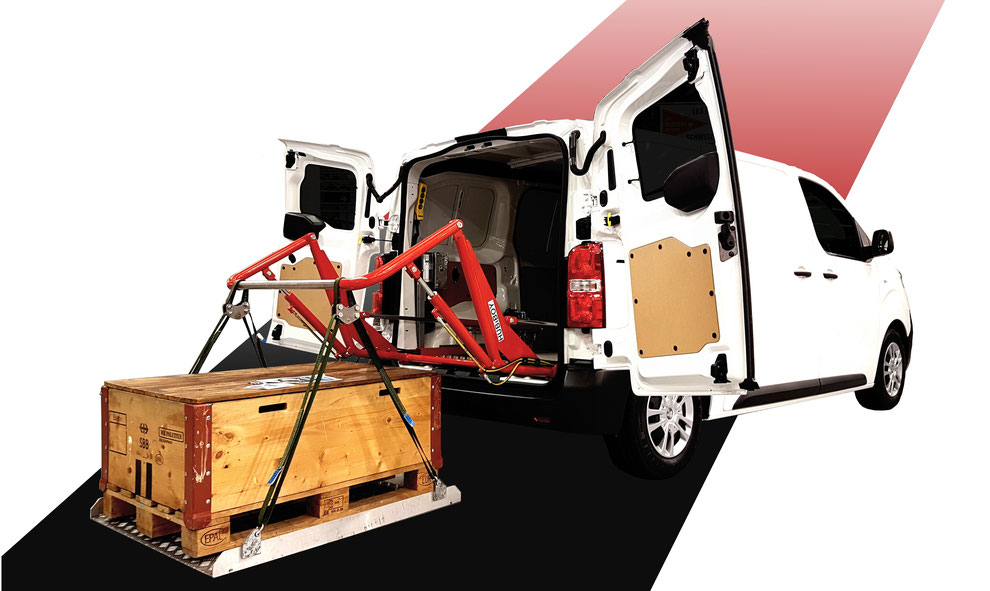 Der neue HUBiBOY NEXT im Citroen Jumpy präsentiert durch Citroen Schweiz S.A.
