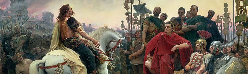 Royer, LN. (1899). Vercingetorix Throws Down His Arms at the Feet of Julius Caesar.