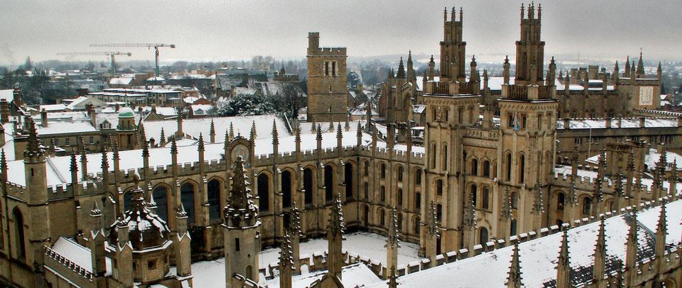 Oxford University, Oxford.