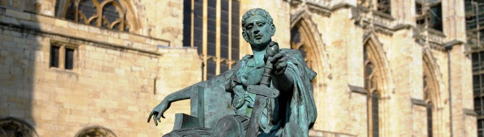 Statue of Constantine the Great, York.