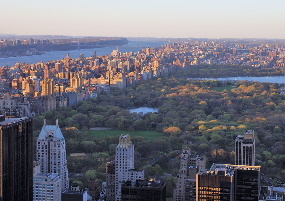 Vue sur Central Park - Manhattan - New York City