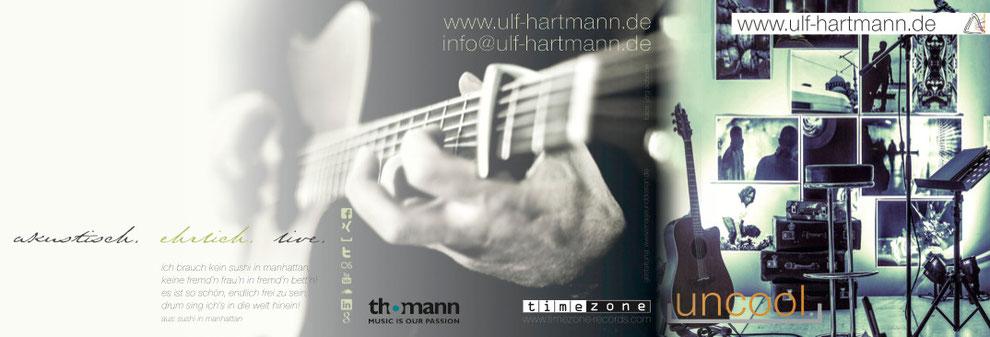 flyer ulf hartmann, singer/songschreiber, singer/songwiter aus braunschweig, http://www.ulf-hartmann.de
