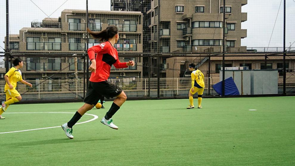 注目プレーヤーの第1節MIPは、男性に負けない運動量と確かなプレーでチームに大きく貢献。