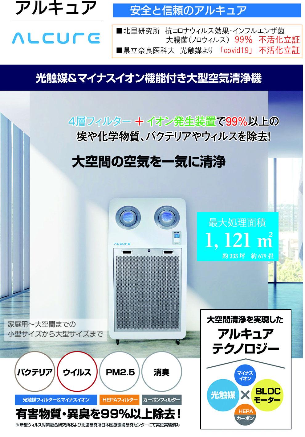 タイタネックス 生活空間の空気を常に清らかに保ち、コロナに負けない環境を作る新しい空間洗浄サービス
