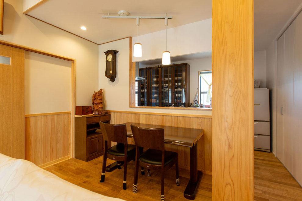 愛知県北名古屋市 S様邸_ダイニングキッチン