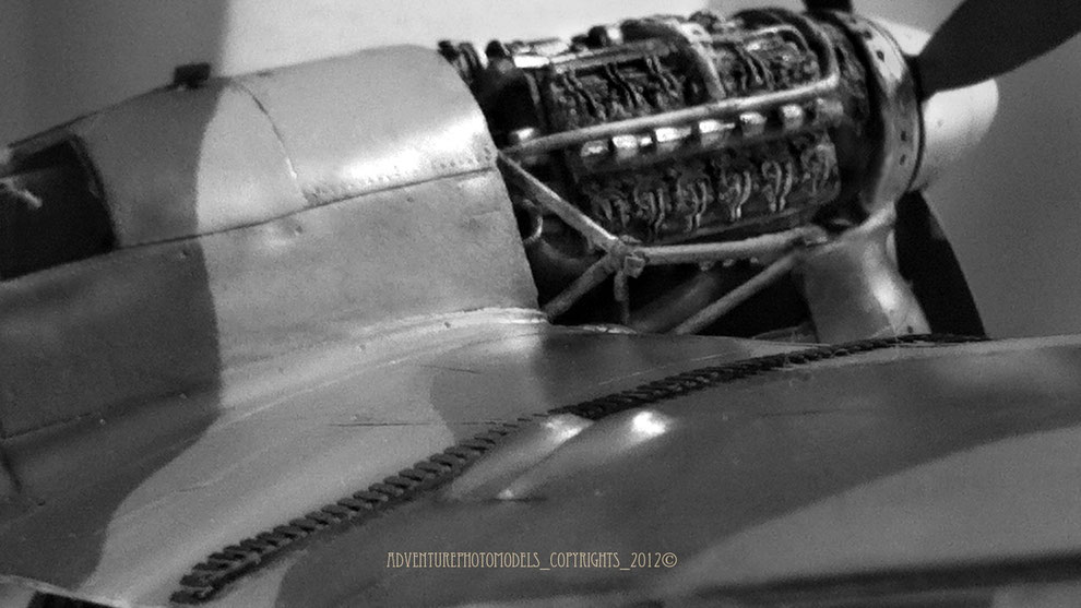 The Napier Sabre MkII by CMK 1/48 scale model (full customized)