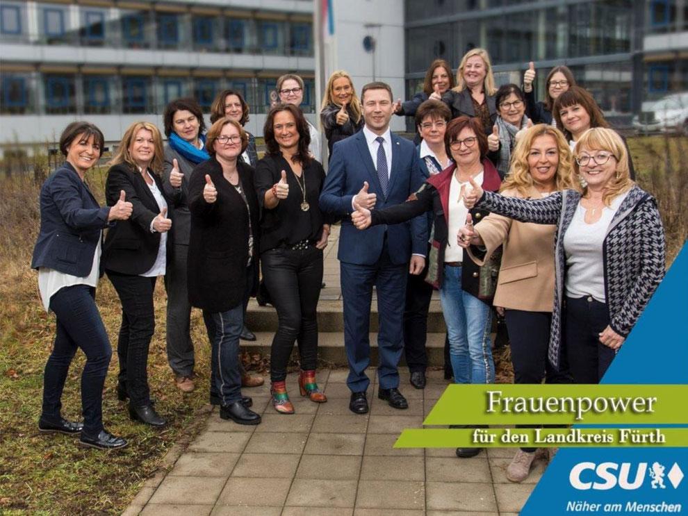 Frauen-Union Landkreis Fürth:  Frauenpower für den Landkreis Fürth