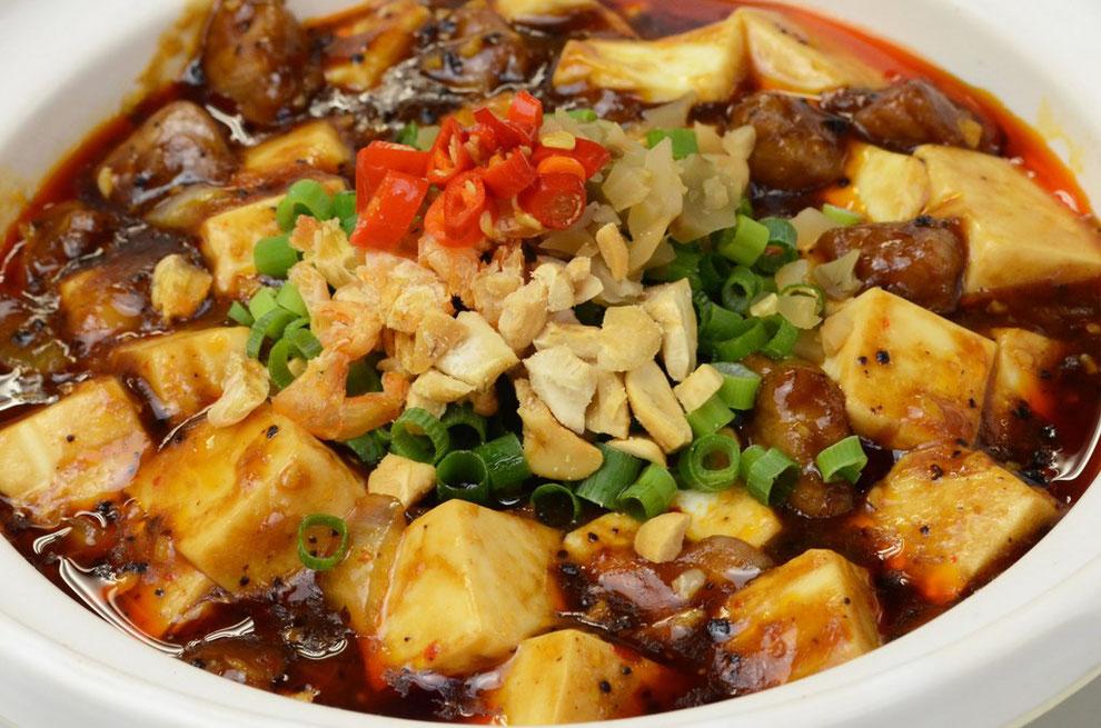 横浜中華街 四五六菜館 おすすめ:孫プレミアム麻婆豆腐(牛肉)