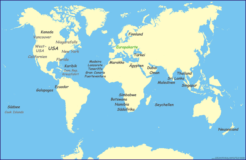 Malediven Karte Weltkarte.Weltkarte Cdreisefotos Reise Und Fotografie