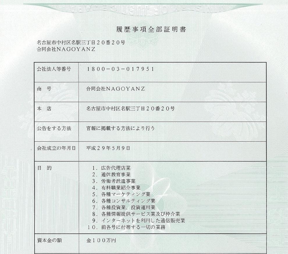 会社情報,about company