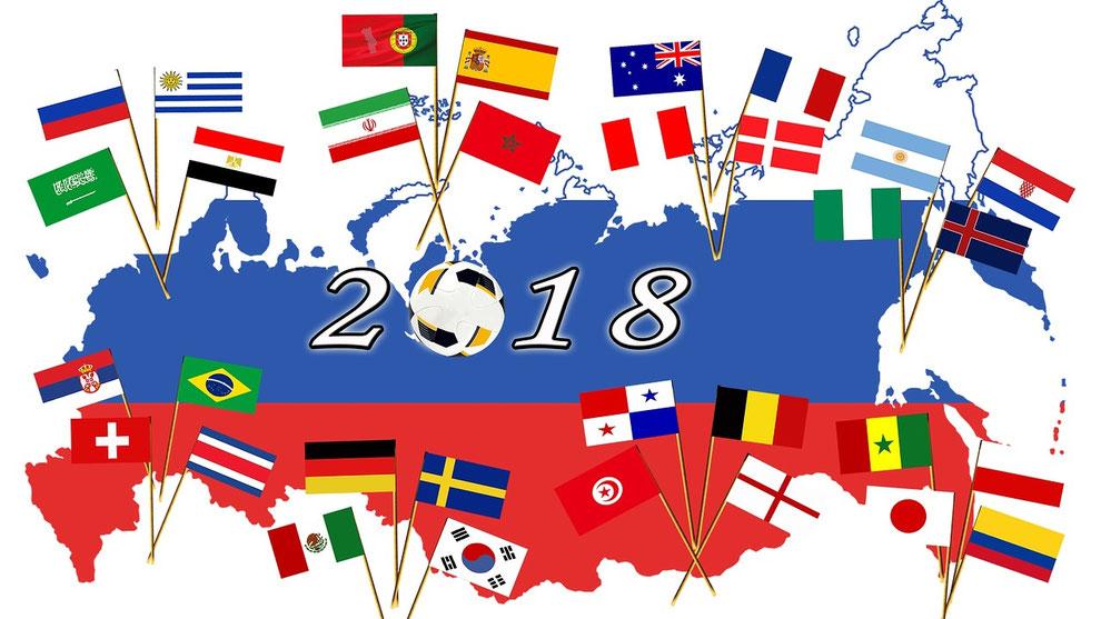 ワールドカップ「サッカー」ロシア大会