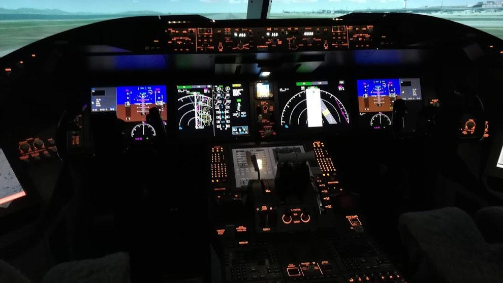 「B787 Simulator / B787シミュレーター」