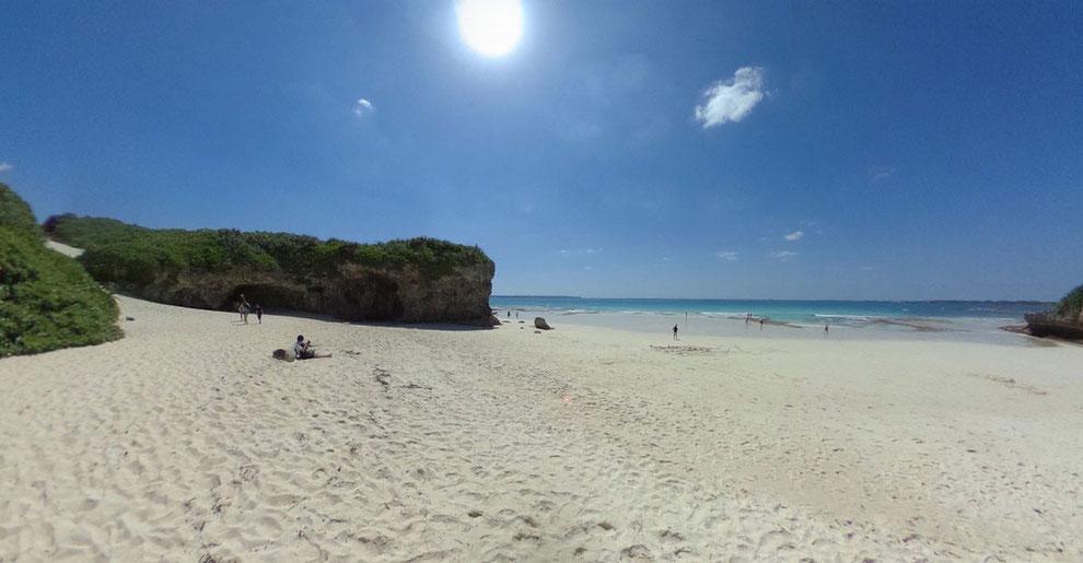宮古島のおすすめ「砂山ビーチ」