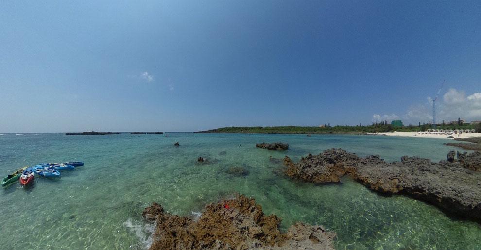 宮古島のおすすめ「シギラビーチ」