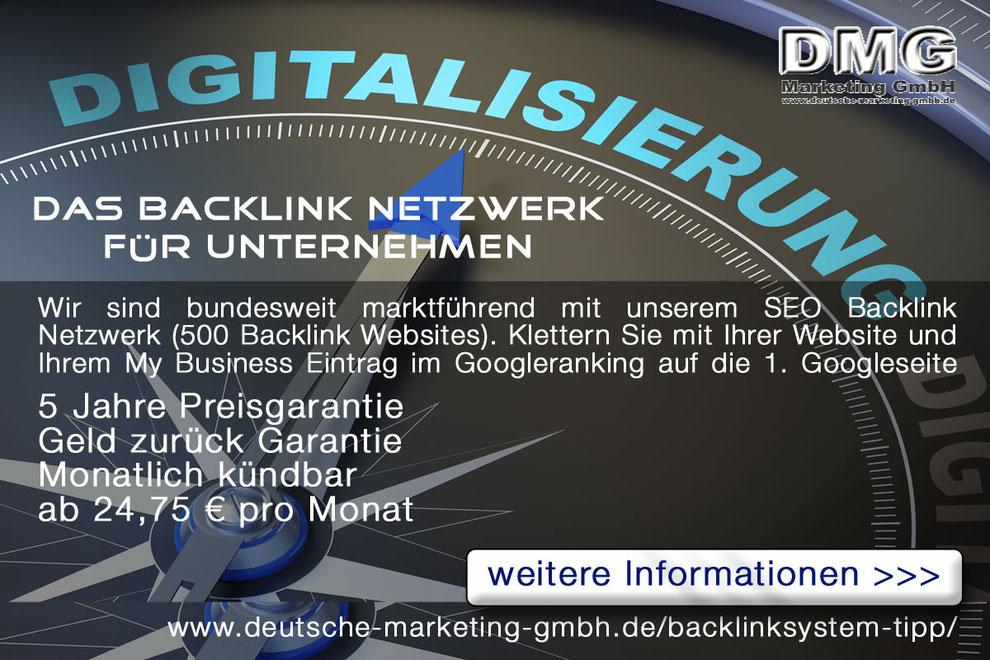 Backlink Netzwerk Immobilien Marketing Makler Marketing Googleranking