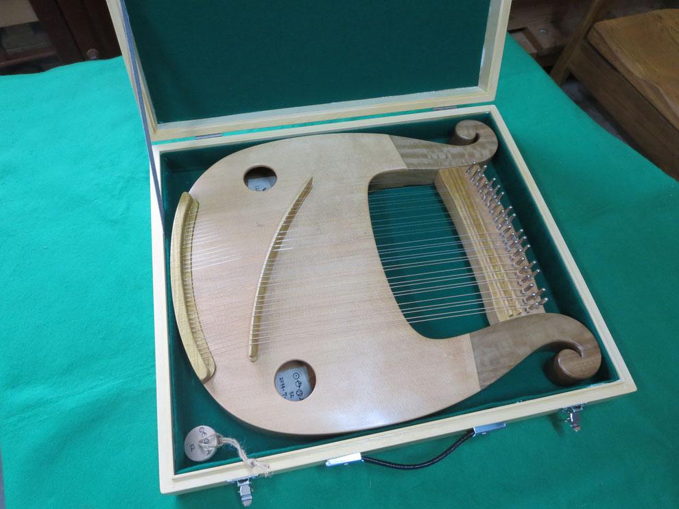 ライアー ライア 竪琴 てるる詩の木工房 あやはべる 9弦 32弦 39弦 leier lyre