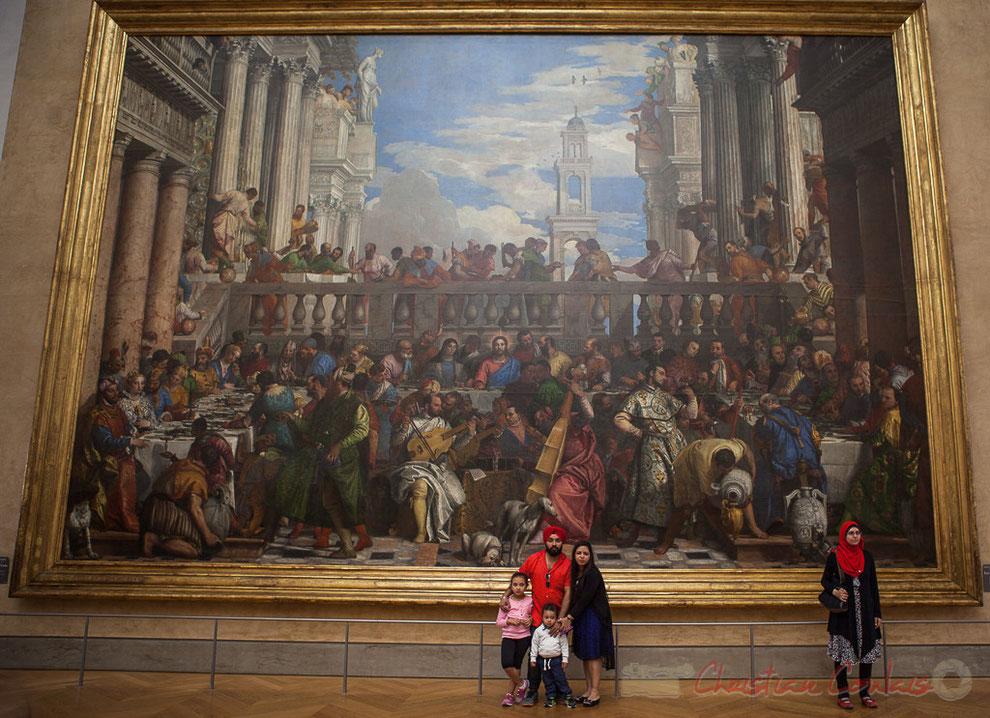 Les Noces de Cana, Véronèse, Salle de la Joconde, Musée du Louvre