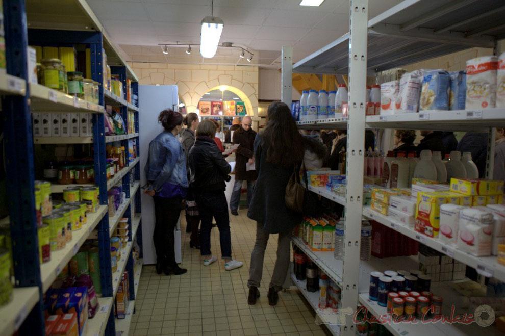 L'annexe de la Cabane à Projets, épicerie solidaire, vestiaire solidaire, rue Amaury de Craon, Créon