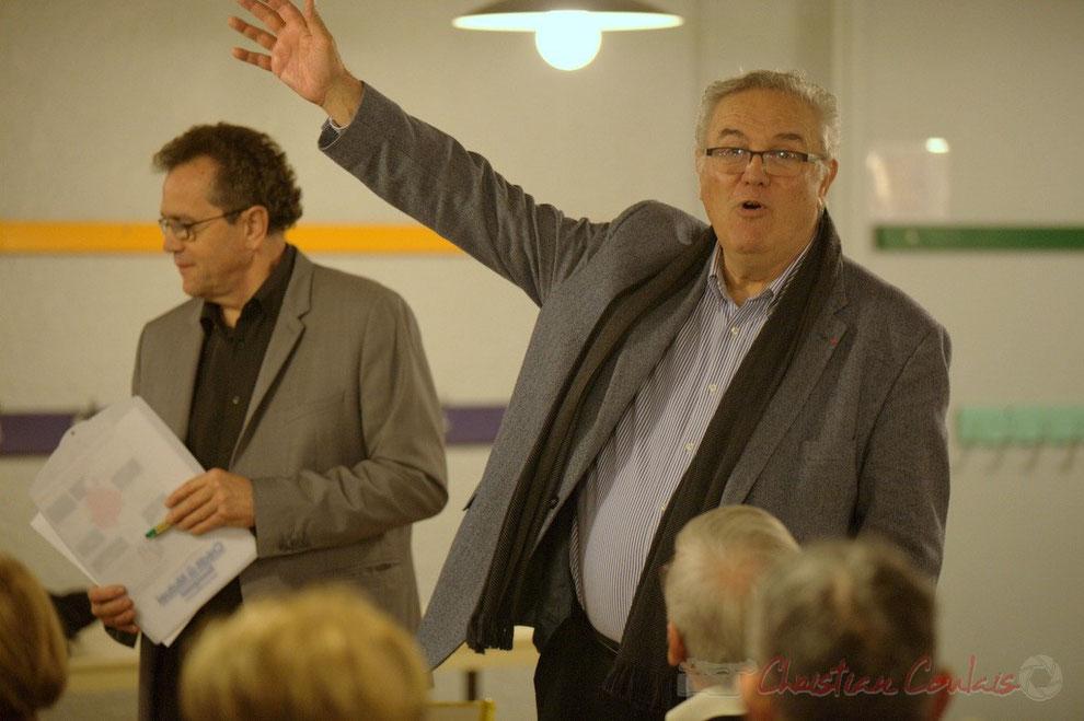 Jean-Marie Darmian, Vice-président du Conseil général, candidat aux élections départementales 2015, canton de Créon