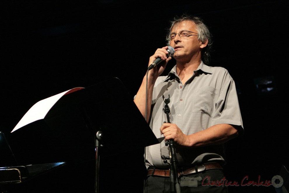 Festival JAZZ360 2011, Cénac. Présentation de la soirée par Richard Raducanu. 03/06/2011