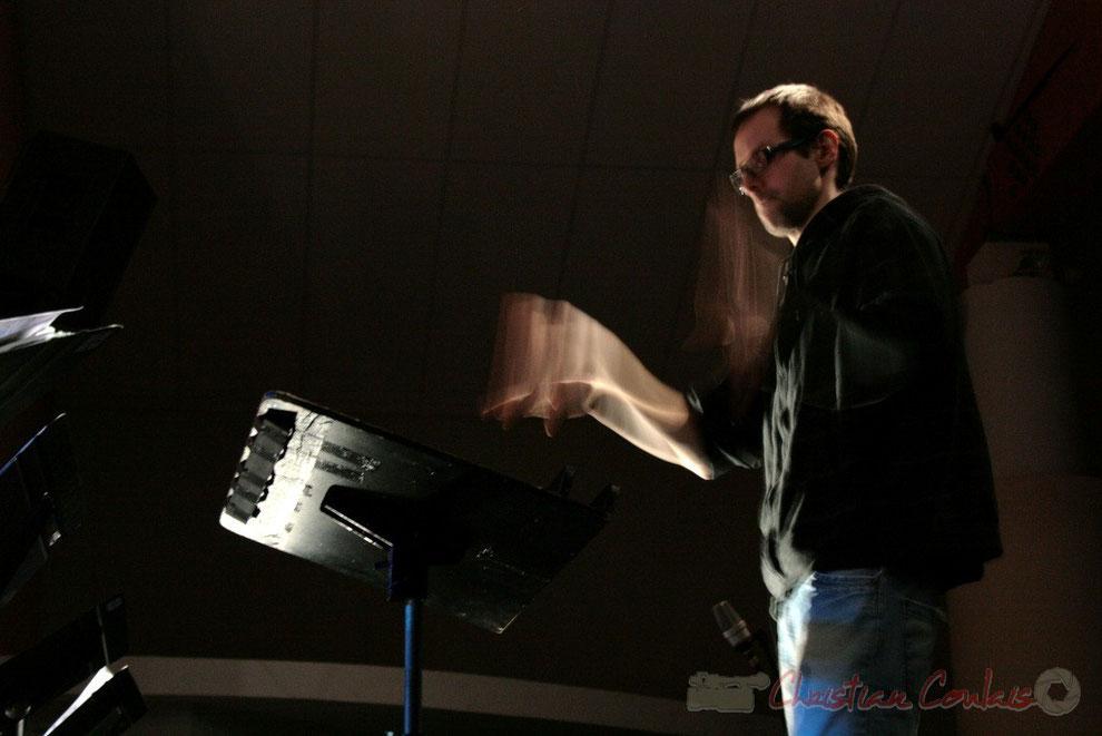 Julien Dubois, coordinateur du département musiques actuelles et jazz du Conservatoire de Bordeaux Jacques Thibaud
