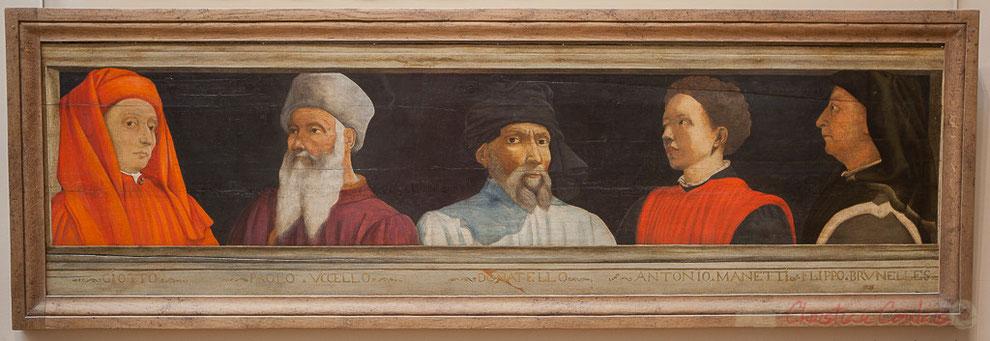 Cinq maîtres de la Renaissance florentine, Salon carré, Musée du Louvre