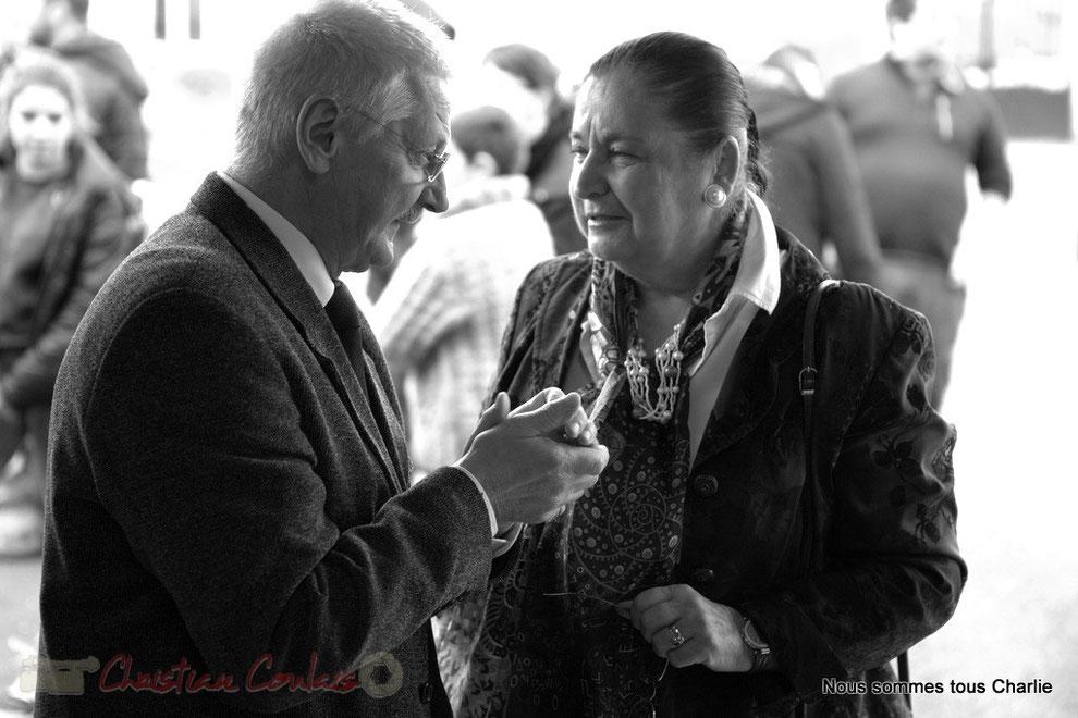 Frédéric Cousso, Maire et Martine Faure, Députée de la Gironde