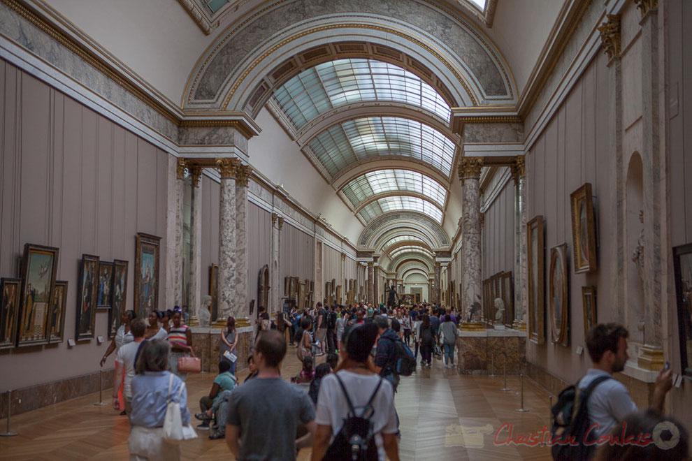 La Grande Galerie, Musée du Louvre