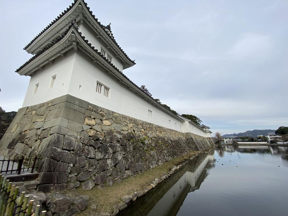 昭和35(1960)年に再建されたもの、現在は開国記念館
