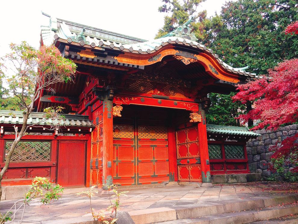 徳川綱吉霊廟勅額門