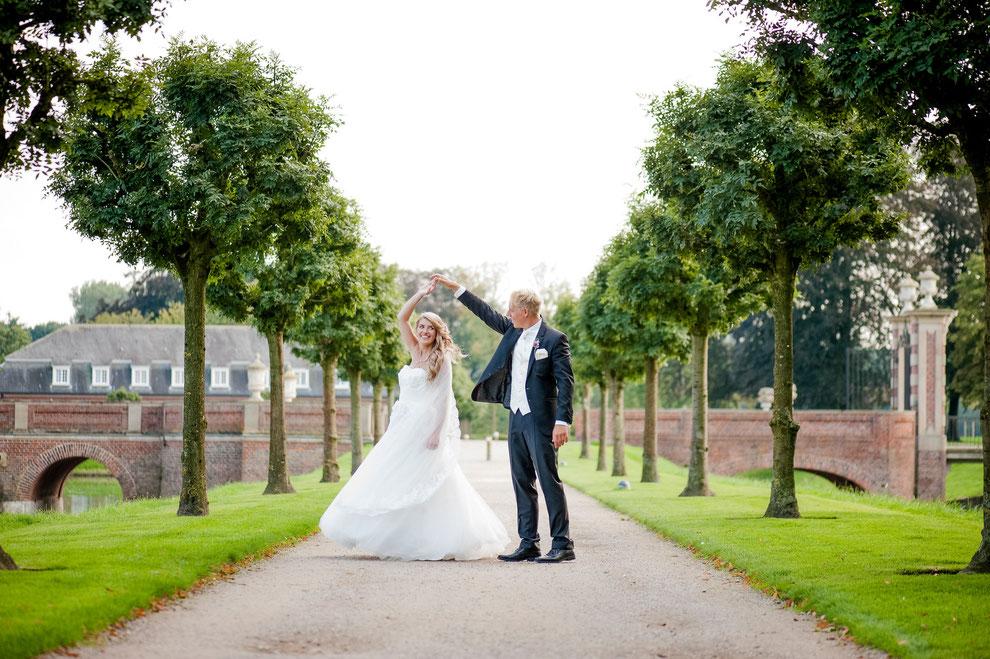 Schloss Nordkirchen Hochzeitsfotos Fotograf Fotostudio