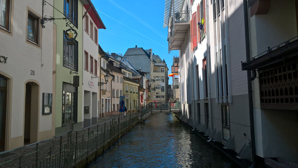 フライブルクを流れる水路