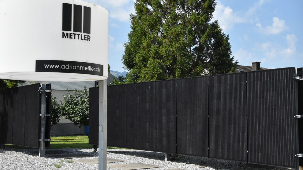 Photovoltaik Anlage Andrian Mettler AG