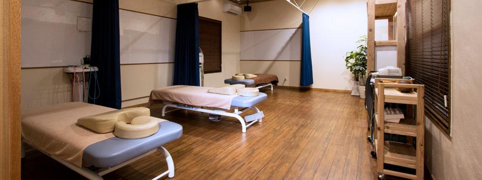 りこね鍼灸整骨院 施術室