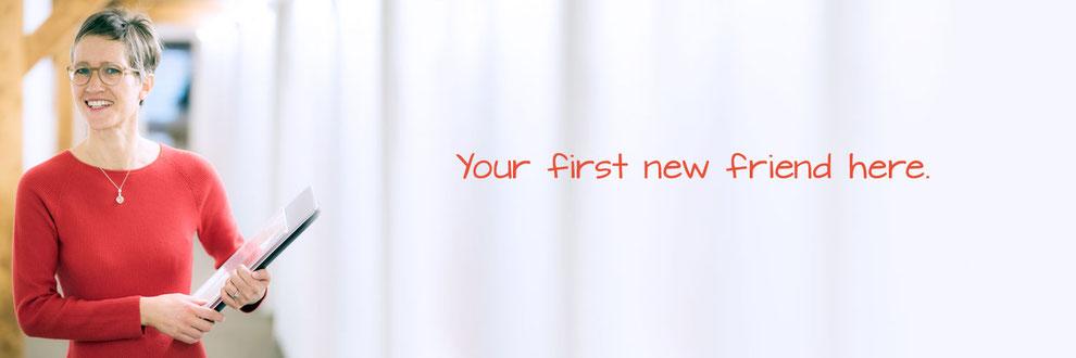 Iris Höfler | Relocation Services Höfler | Region Vorarlberg, Liechtenstein, St. Gallen, Winterthur, Thurgau, Graubünden, Bayern, Baden-Württemberg, Bodensee | Your first new friend here.