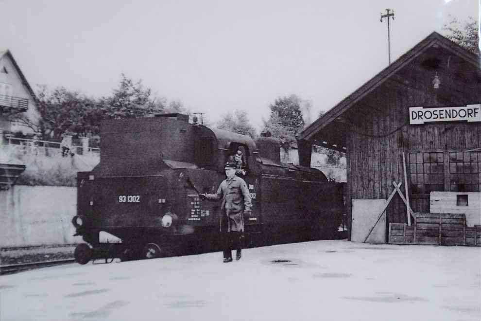 ÖBB 93.1302 in Drosendorf