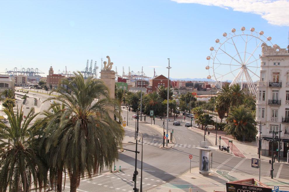Uitzicht valencia appartement