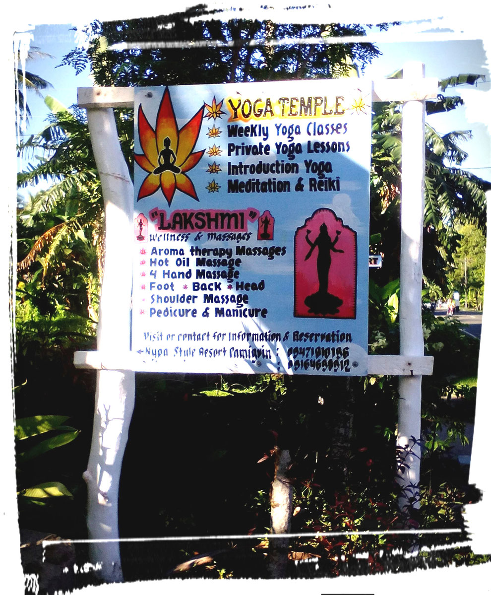Yoga temple, yoga classes, schedule of yoga classes yoga retreat, reiki, Meditation, Nypa Style resort, Camiguin, Philippines