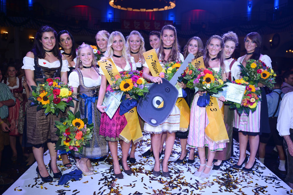 TZ Wiesn-Madl-Finale 2015