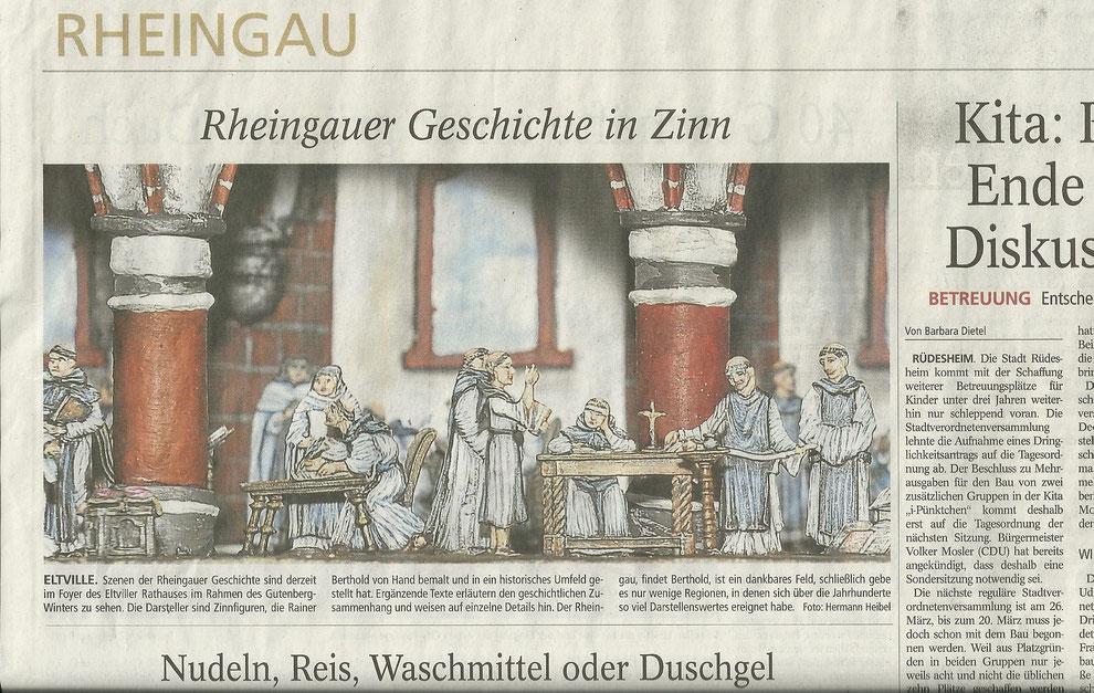 02.02.2015  Bericht im Wiesbadener Kurier