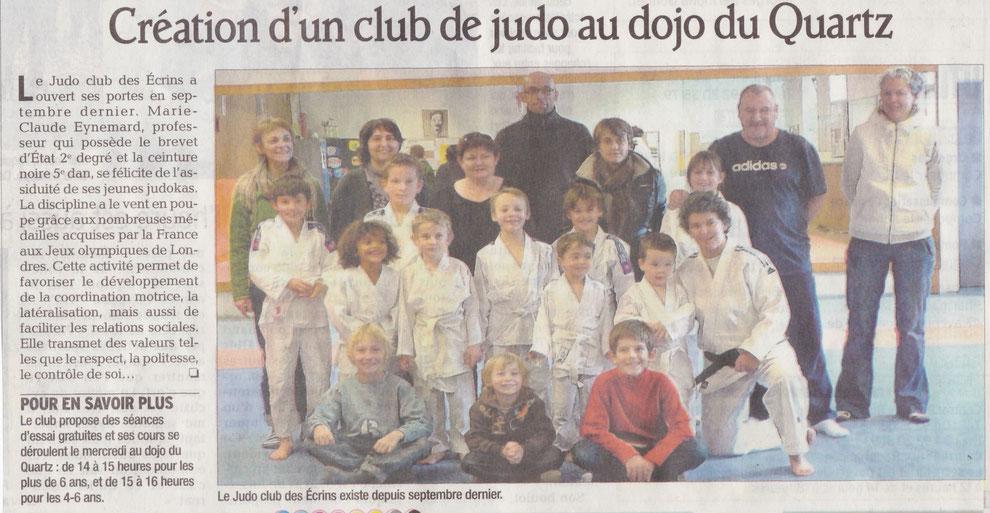 Création du Club Novembre 2012