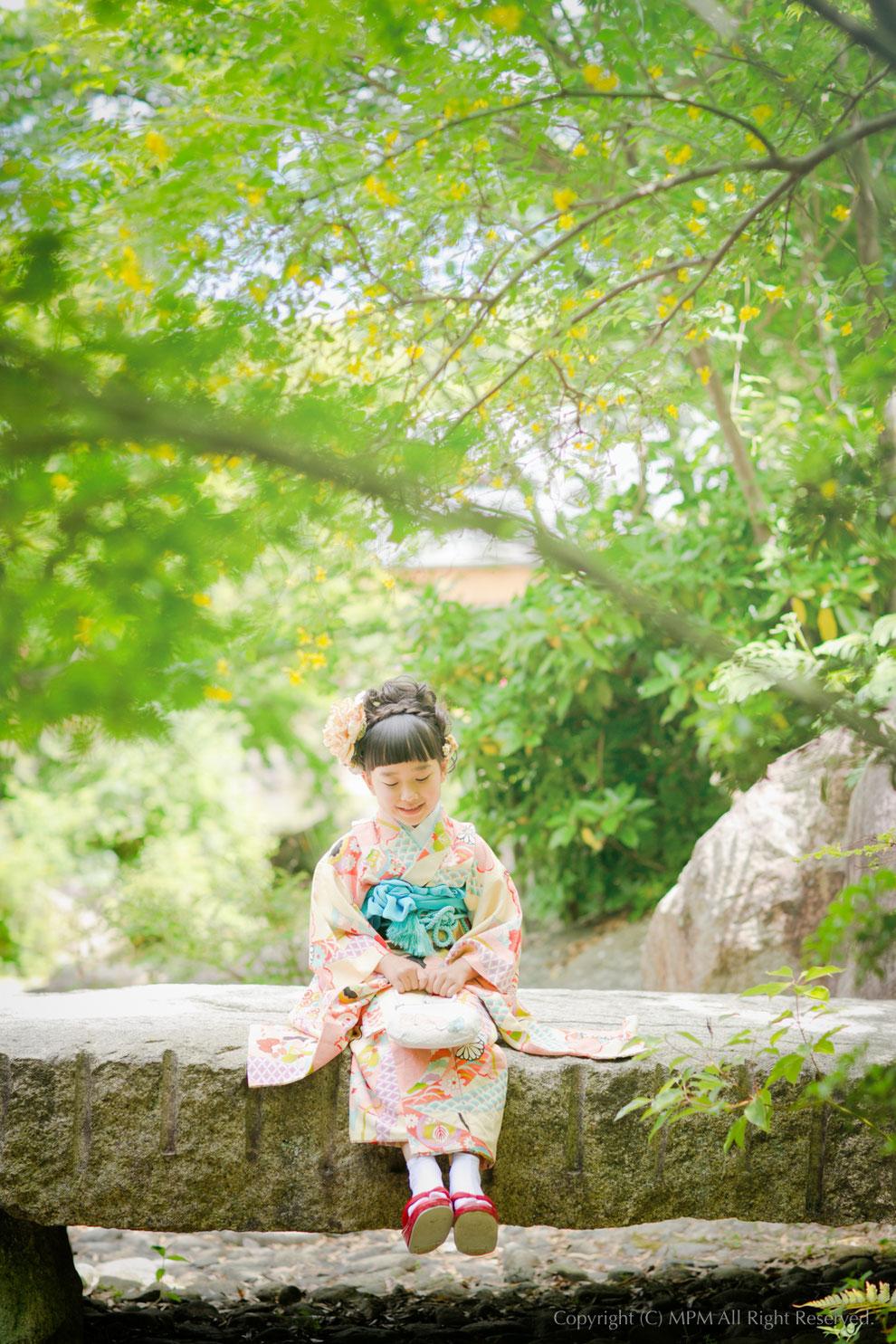 七五三写真 京都 滋賀
