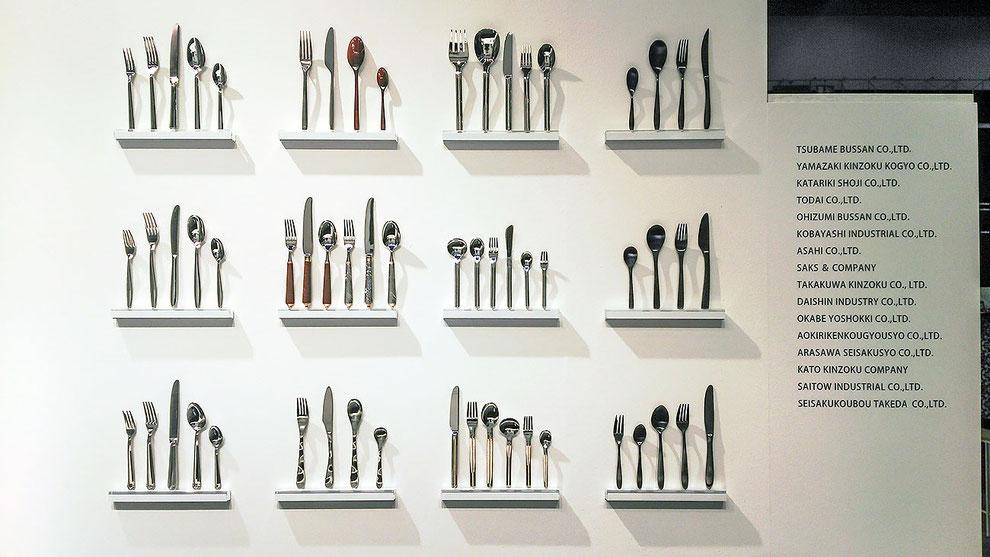 Ambiente 2019ジャパンスタイル、日本金属洋食器工業組合ブース