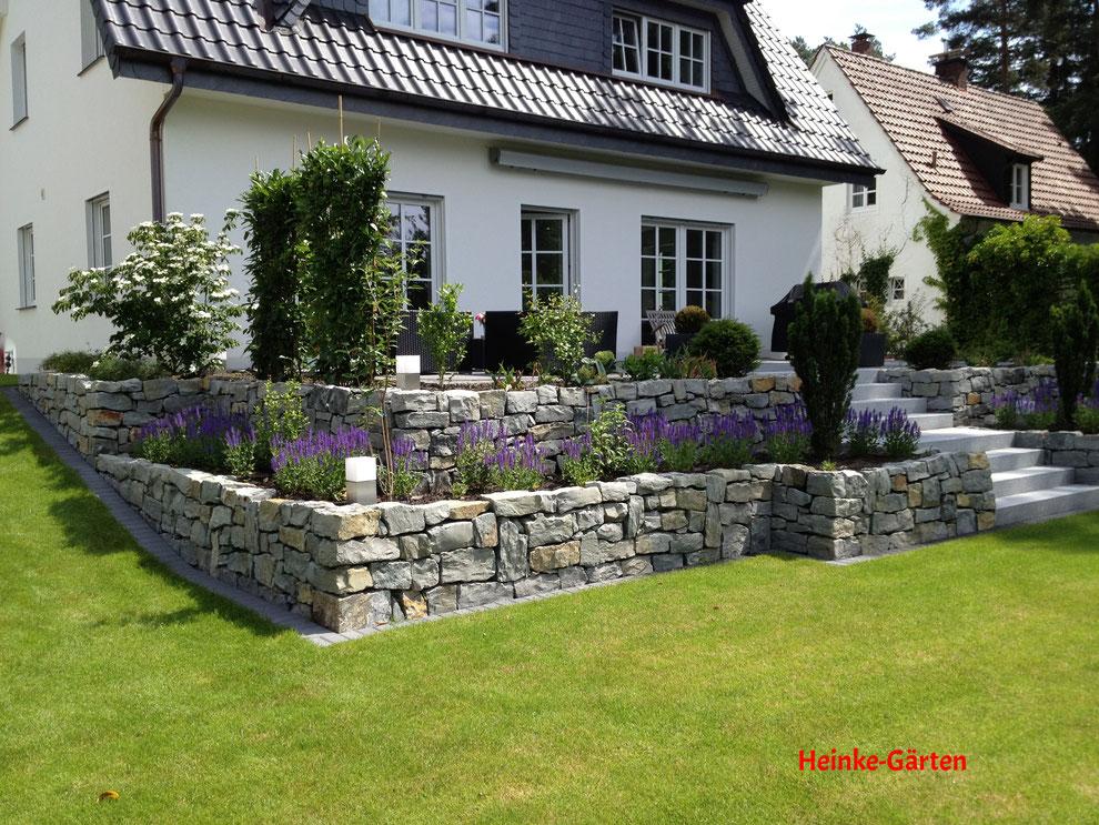 Heinke Gärten Gartenbau Landschaftsbau Heinke Paderborn