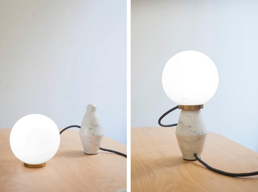 Bilboquet lamp by Collection Particulière