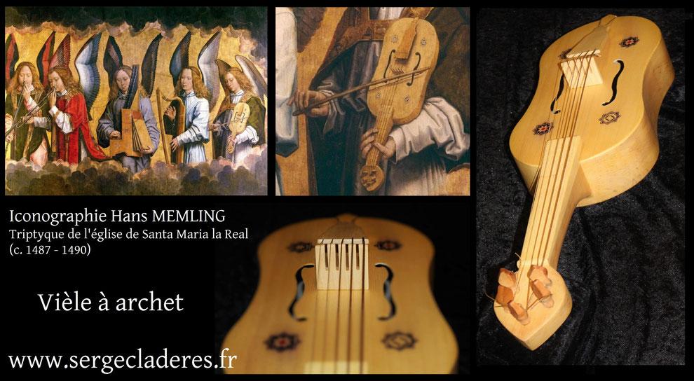 vièle à archet Hans Memling